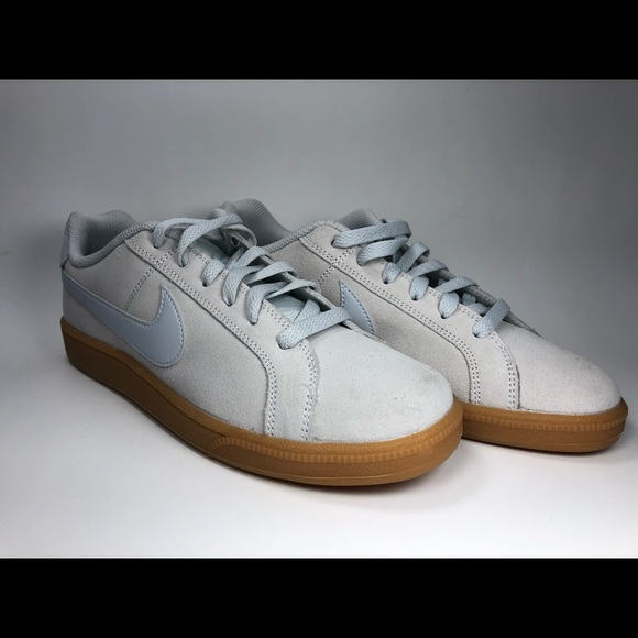 Details about Nike Court Royal Suede Grey Woman Sports Shoes Sneakers 916795 001